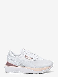 Cruise Rider Wn's - chunky sneakers - puma white-cloud pink