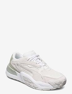 Hedra Minimal Wn's - chunky sneakers - nimbus cloud-desert sage-puma white