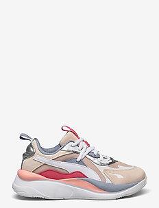 RS-Curve Aura Wn's - chunky sneakers - shifting sand-eggnog-puma silver
