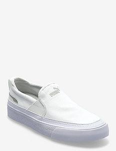 Bari Z SlipOn - baskets slip-ons - puma white-gray violet