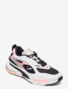 RS-Fast - tenis - puma black-puma white-elektro peach