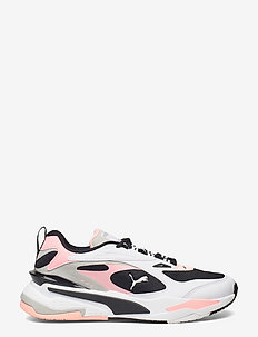 RS-Fast - baskets basses - puma black-puma white-elektro peach
