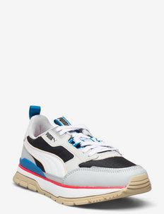 R78 Trek - låga sneakers - puma black-puma white-glacial blue