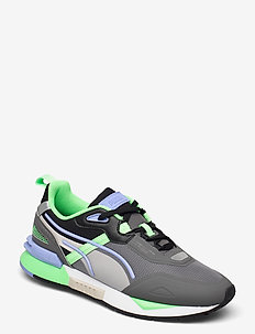 Mirage Tech - low tops - castlerock-elektro green