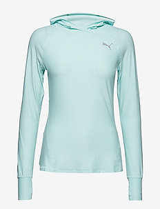 Ignite L/S Hoody Tee - FAIR AQUA HEATHER