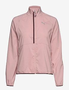Last Lap Hoodless Jacket - BRIDAL ROSE