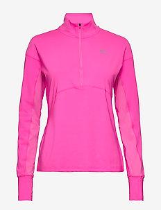 Ignite 1/4 Zip - bluzki z długim rękawem - luminous pink