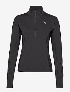 Ignite 1/4 Zip - longsleeved tops - puma black