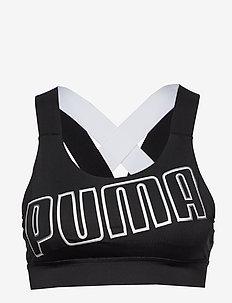 Feel It Bra M - PUMA BLACK-PUMA WHITE