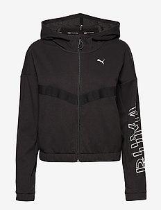 HIT Feel It Sweat Jacket - PUMA BLACK