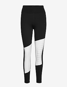 Logo 7/8 Graphic Tight - running & training tights - puma black-puma white-rose gold