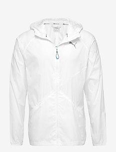 Lightweight Hooded Jacket - PUMA WHITE