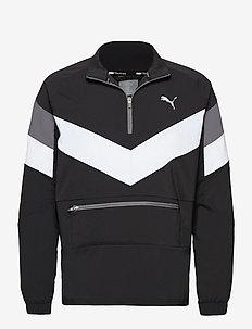 Reactive Packable Jacket - anoraki - puma black-puma white-castlerock