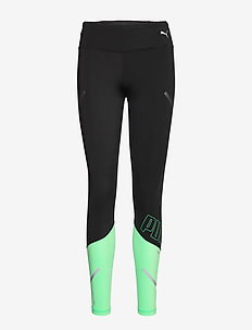 Runner ID Thermo-R+ 7/8 Tight - collants d'entraînement - puma black-green glimmer