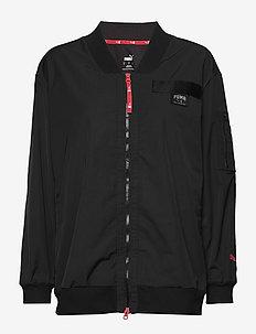 AL Long Bomber Jacket - sportjackor - black