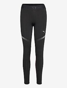 Runner ID Regular Rise Full Tight - running & training tights - puma black-burgundy