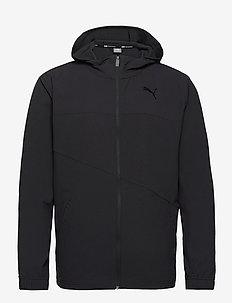 Train Vent Woven Jacket - koulutustakit - puma black