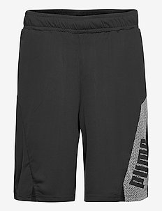 "Train Knit 10"" Session Short - trainingsshorts - puma black-puma white"