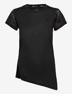 Studio Lace SS Tee - t-shirts - puma black