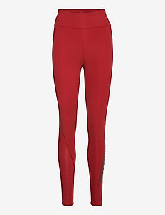 Train First Mile Mono Full Tight - running & training tights - red dahlia