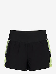 "Run Lite Woven 3"" Short - treenishortsit - puma black-fizzy yellow"