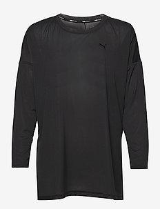 STUDIO GRAPHENE LONG SLEEVE TOP - topjes met lange mouwen - puma black