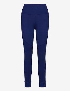 Studio Rib High Waist 7/8 Tight - running & training tights - elektro blue