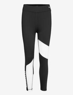 Train Favorite Logo High Waist 7/8 Tight - running & training tights - puma black-puma white