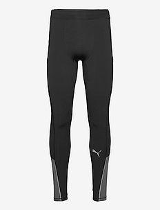 RUN COOLadapt LONG TIGHT M - löpnings- & träningstights - puma black-castlerock