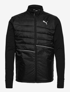 RUN ELEVATED PADDED JACKET M - training jackets - puma black