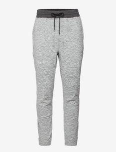 TRAIN CLOUDSPUN JOGGER - spodnie treningowe - medium gray heather