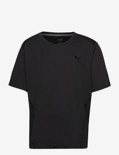 TRAIN CLOUDSPUN BND SS TEE - topy sportowe - puma black