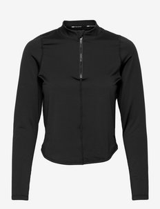 Train Eversculpt Zip Long Sleeve Top - langarmshirts - puma black-q3