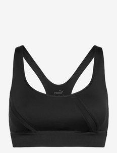 EXHALE Mesh Curve Bra - biustonosze sportowe: średnie - puma black