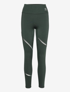 EXHALE Mesh Curve Tight - running & training tights - midnight green