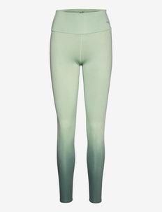 STUDIO Ombre HW Full Tight - running & training tights - frosty green-midnight green-ombre print