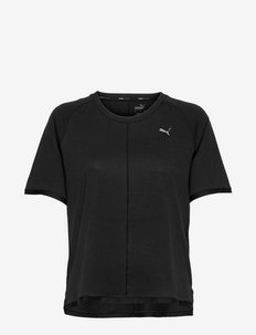 STUDIO Tri Blend Relaxed Tee - t-shirty - puma black