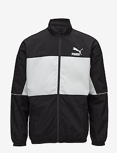 Retro Woven Track Jacket - track jackets - puma black