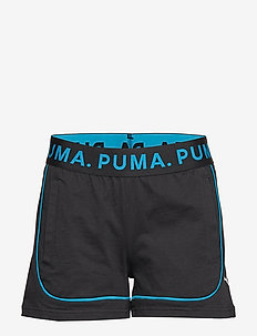 Chase Shorts - COTTON BLACK-CARIBBEAN SEA