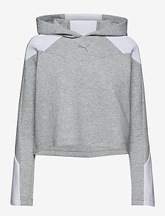 EVOSTRIPE Hoody - huvtröjor - light gray heather