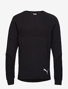 Evostripe Crew - bluzki z długim rękawem - puma black