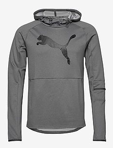 Tec Sports Cat Hoody - MEDIUM GRAY HEATHER