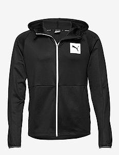 Tec Sports FZ Hoody - PUMA BLACK