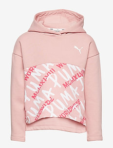Alpha Hoody FL G - BRIDAL ROSE