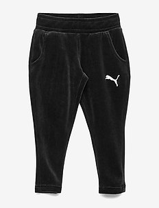 Alpha Velvet Pants G - PUMA BLACK