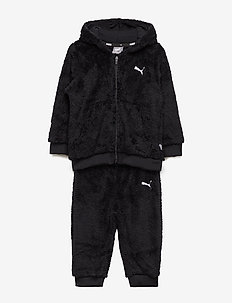 Minicats Sherpa Jogger - COTTON BLACK