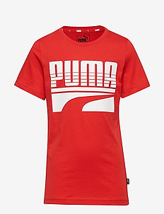 Rebel Bold Tee B - HIGH RISK RED