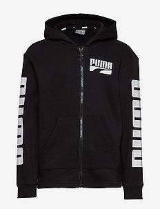 Rebel Bold Hooded Jacket FL B - PUMA BLACK