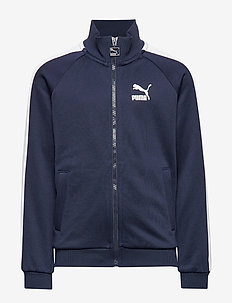 Iconic T7 Track Jacket Poly-Terry B - PEACOAT