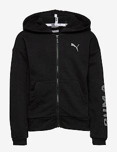 Alpha Sweat Jacket G - puma black